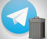 آموزش حذف اکانت تلگرام – delete account telegram