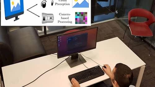 سرقت اطلاعات با نوسان نور نمایشگر