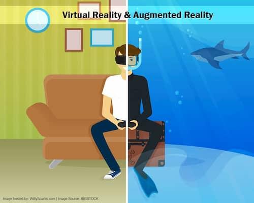 واقعیت افزوده و واقعیت مجازی (Augmented Reality and Virtual Reality)